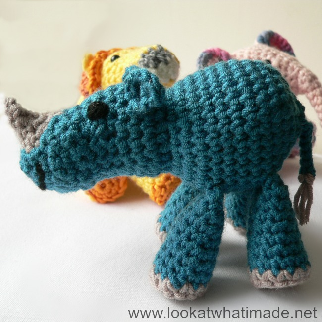 Crochet Animal Body - Look At What I Made