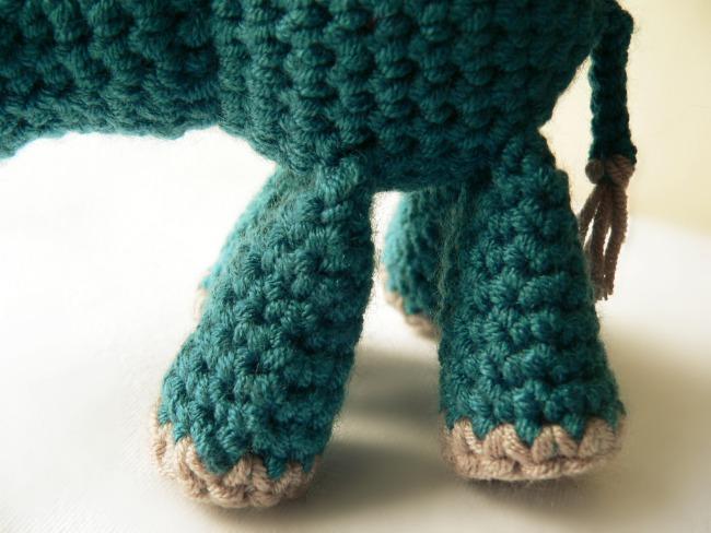 Crochet Animal Legs Amigurumi