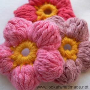 Cluster Flowers (Crochet Flowers)