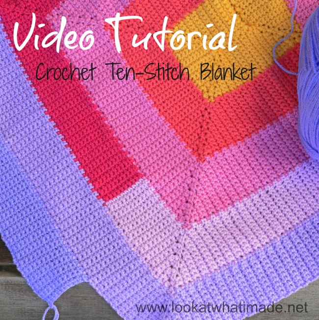 Ten Stitch Blanket Video Tutorial