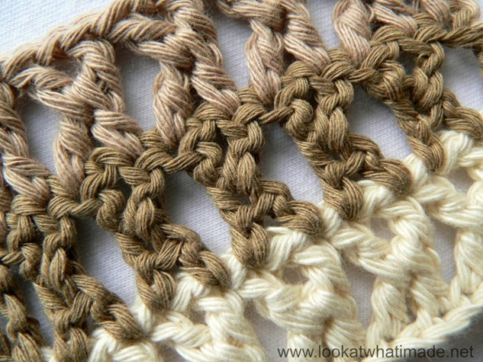 Crochet Treble Cross Stitch