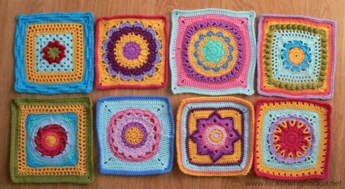Crochet Along Squares 2014