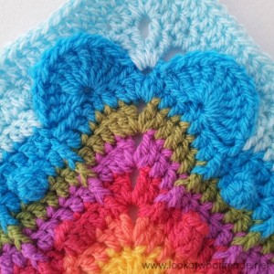 Never Ending Love Crochet Square