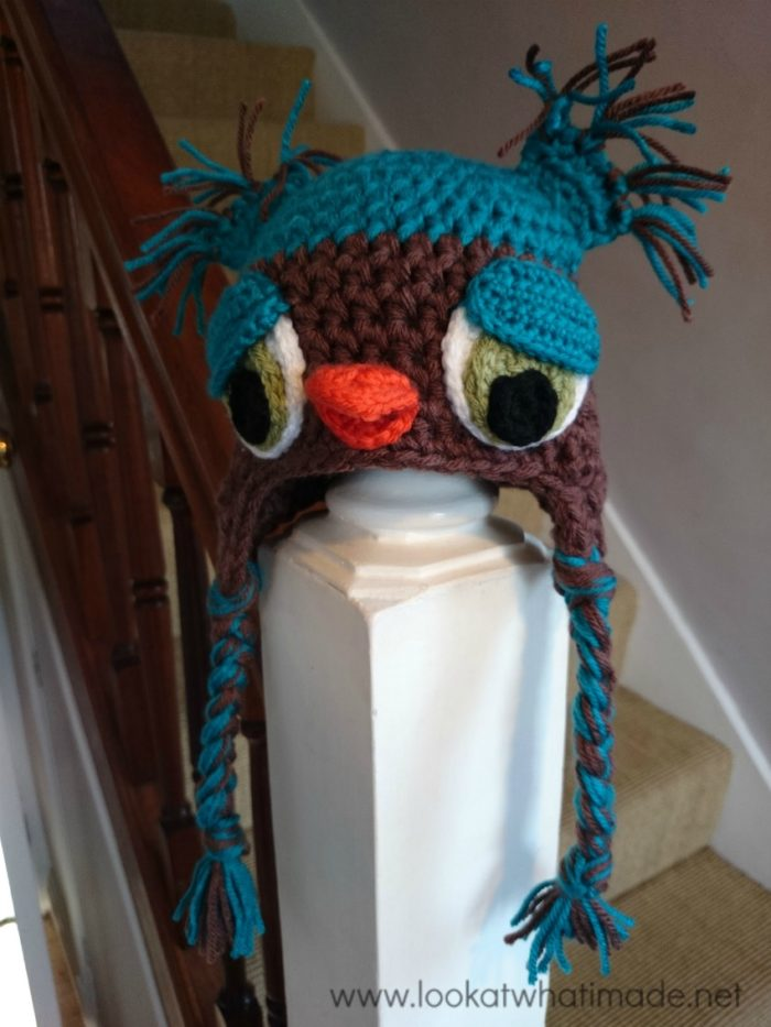 Featured Pattern: NAOH Crochet Owl Hat ⋆ Look At What I Made