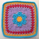 Wish Upon a Star Crochet Square