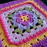 Block 13:  Veronica's Rose {Photo Tutorial}