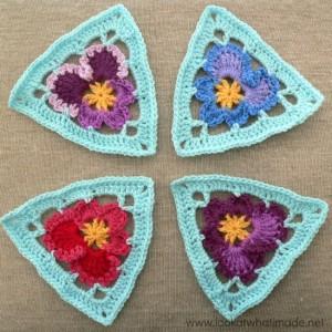 Crochet - Granny Triangle Bunting Pattern - Lulu Loves Blog