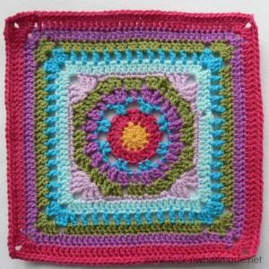 Lemony Lime Citrus Square Crochet Along
