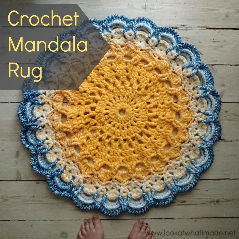 Mandala 21 Crochet Rug