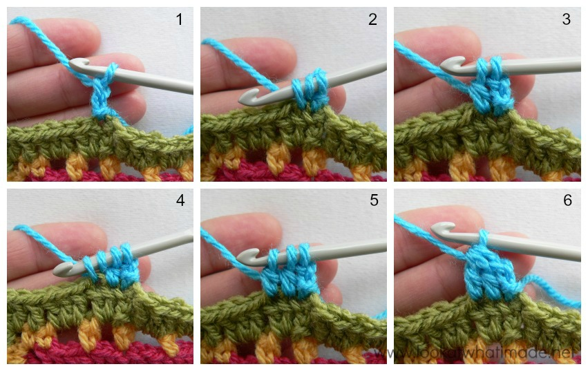 Crochet Stitches Dc3tog : stitch, remember to ch 2 between cluster stitches. Some patterns ...