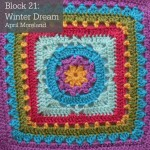 Winter Dream Crochet Square Photo Tutorial