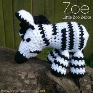 Zoe the Crochet Zebra