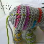 Crochet Animal Body {Striped}