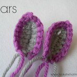 Crochet Animal Ears {Zebra}