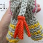 Crochet Animal Tail {Amigurumi}