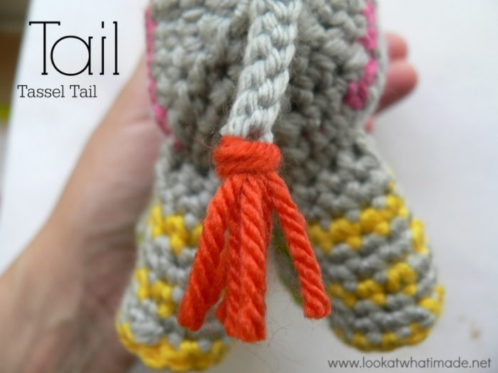 Crochet Animal Tail