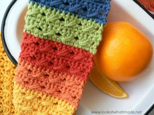 Paternoster Crochet Dishcloth