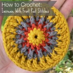 How to Crochet:  Increase with Front Post Stitches