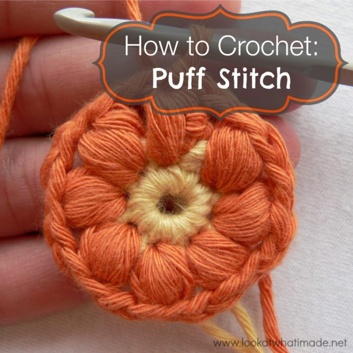 Video How To Crochet : How to Crochet: Puff Stitch - Look At What I Made