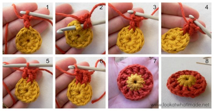 How to Increase With Front Post Stitches Round 2 How to Crochet: Increase with Front Post Stitches