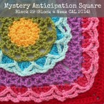 Mystery Anticipation Square Block a Week CAL 2014