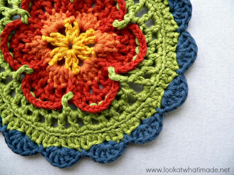 Crochet Patterns Using Mandala Yarn : Sophies Mandala Crochet Mandala