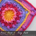 Bonus Block 2:  Posie Field Square  {Photo Tutorial}