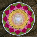 King Protea Mandala  {Another Crochet Mandala}