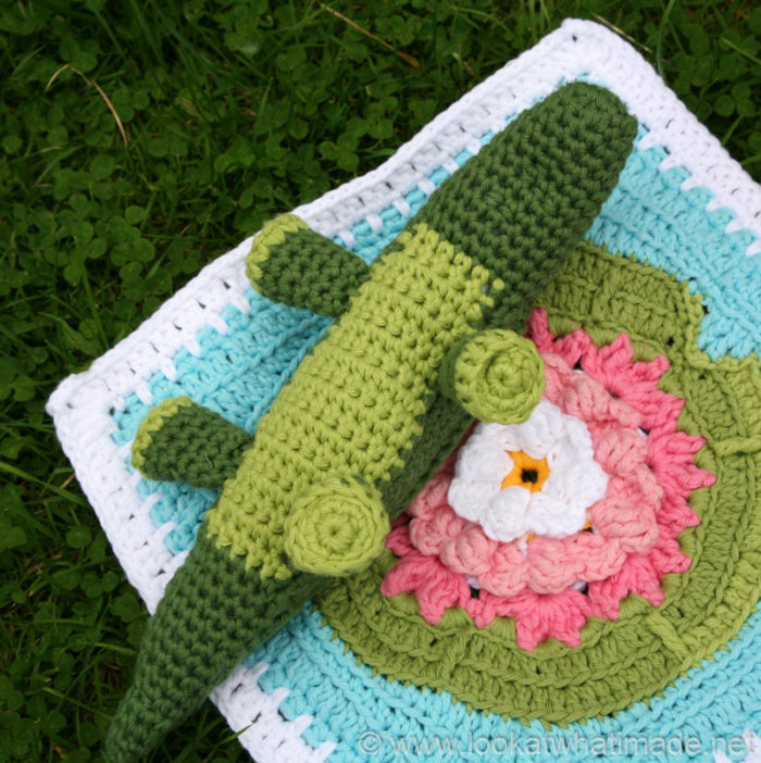 Free Crochet Patterns For Zoo Animals : Colin the Crochet Crocodile {A Little Zoo Animal} ? Look ...