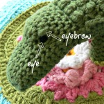 Colin the Crochet Crocodile Photo Tutorial