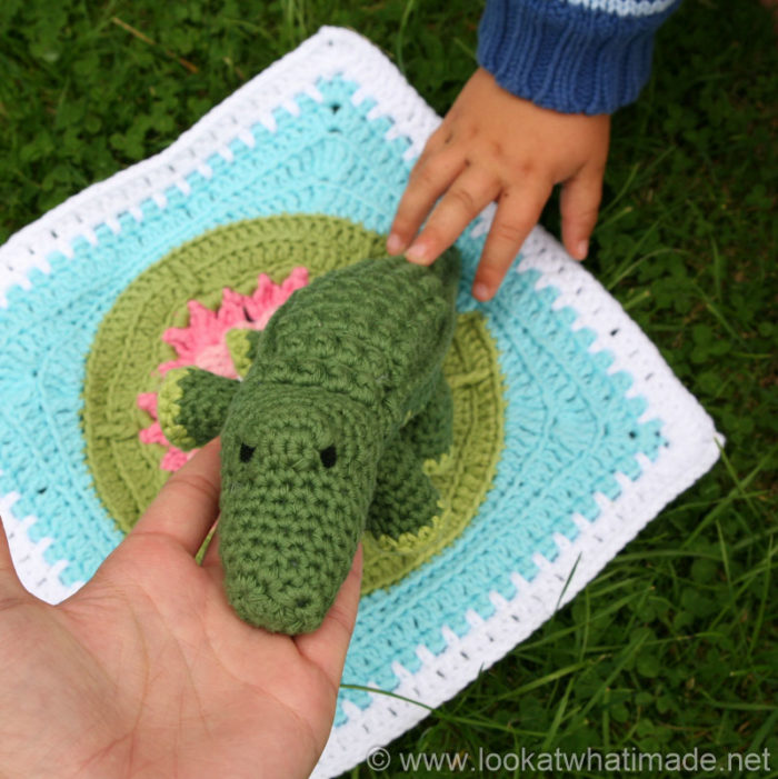 Free Crochet Patterns For Large Animals : Colin the Crochet Crocodile {A Little Zoo Animal} ? Look ...