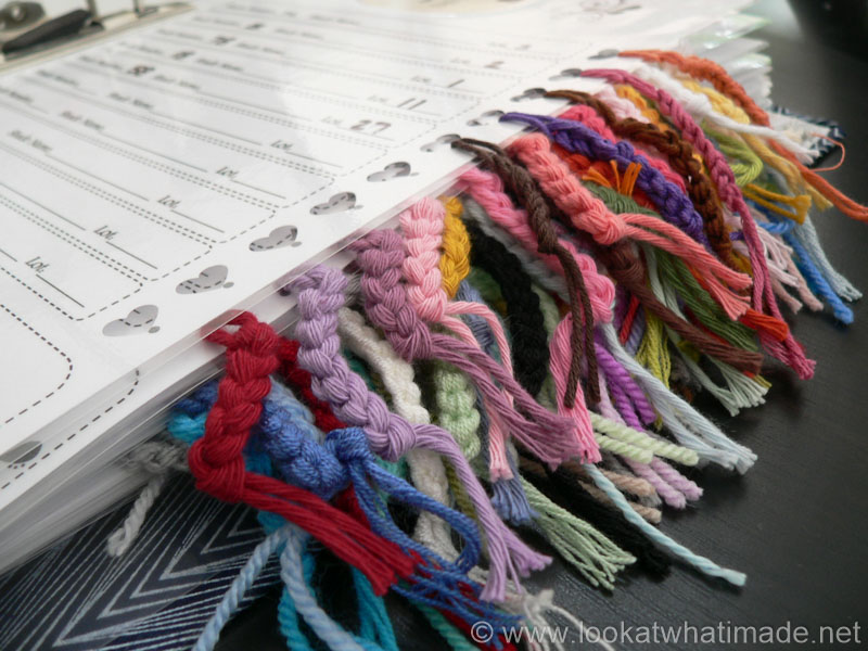 Organize Your Yarn Stash Yarn Ball Bands