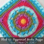 Block 35:  Peppermint Mocha Frappe {Photo Tutorial}