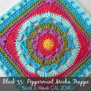 Peppermint Mocha Frappe Square Photo Tutorial