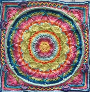 Sophie's Garden French Translation (Crochet Pattern)