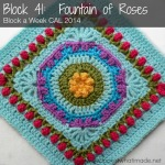 Block 41:  Fountain of Roses Square  {Photo Tutorial}