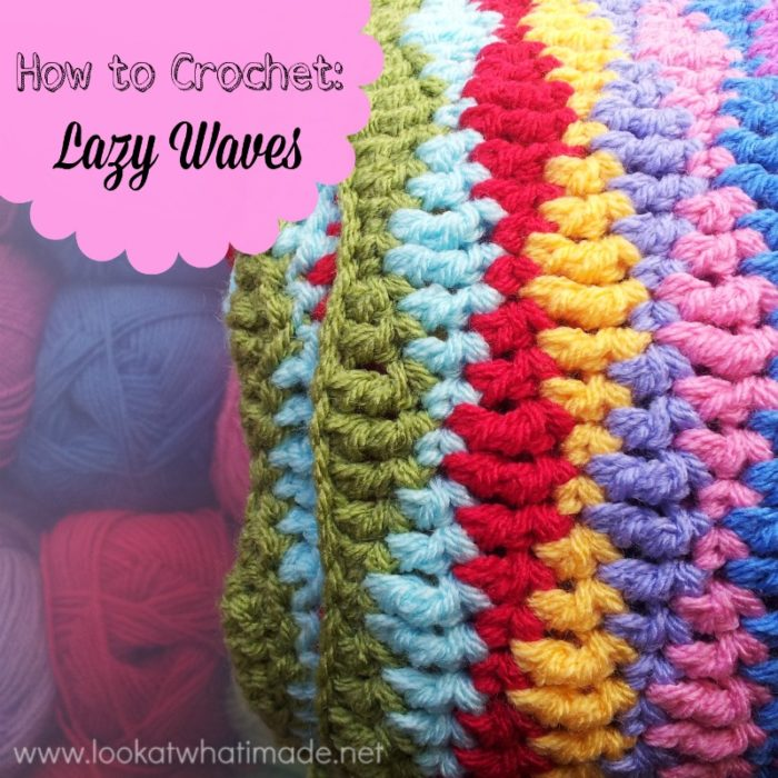 How To Crochet Lazy Waves Look At What I Made