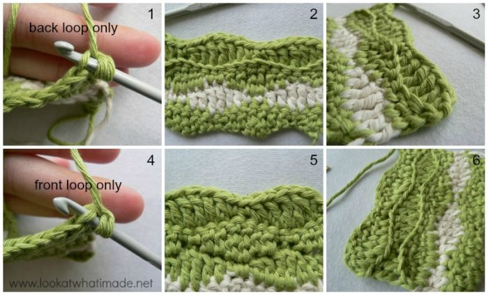 How To Crochet Lazy Waves ⋆ Look At What I Made Impressive Lazy Wave Crochet Pattern