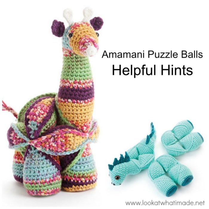Amamani Puzzle Balls - Helpful Hints ⋆ Look At What I Made