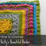 How to Crochet:  Betty's Beautiful Border {Photo Tutorial}