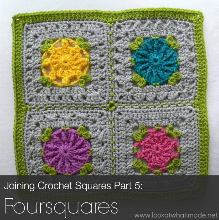 Crochet Patterns Joining Squares : In Part 1 (Preparing to Join Your Squares) , I mentioned that you ...