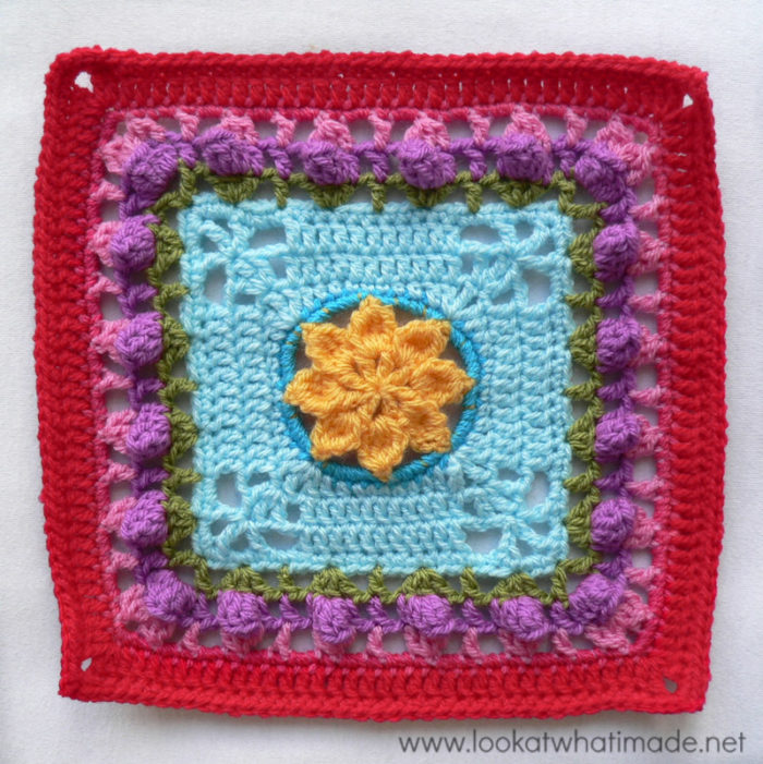 Princess Square Photo Tutorial Crochet Along