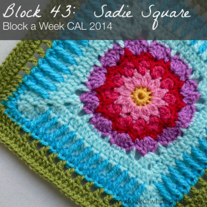 Block 43:  Sadie Square Photo Tutorial