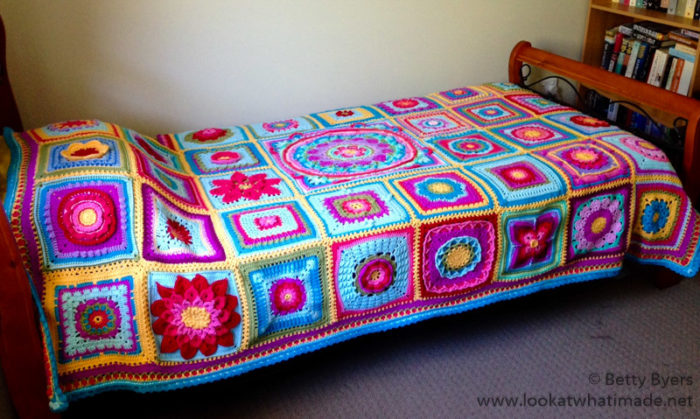 Betty's Blanket Crochet Afghan Block a Week CAL 2014