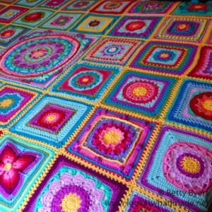 Block a Week CAL 2014 – Betty's Blanket Colour List