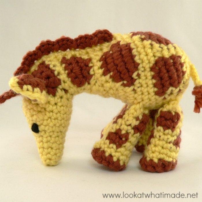 Gendry The Crochet Giraffe A Free Little Zoo Pattern