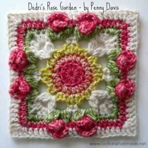 Dedri's Rose Garden Square – by Penny Davis