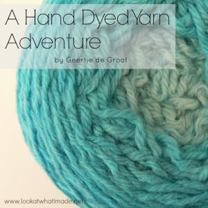 How to Hand Dye Yarn Geertje de Groot