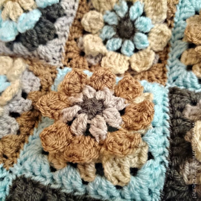 A Birthday A New Website And A Pretty Crochet Blanket Look At