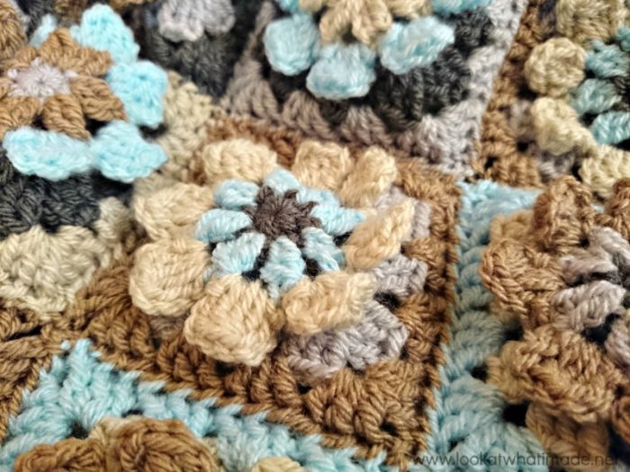 Crochet Flower Afghan